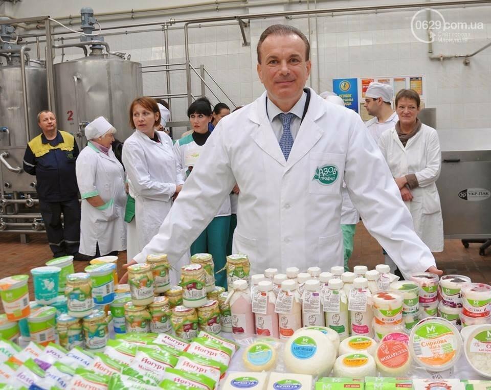 Юрий Тернавский: «Мариупольский молокозавод может напоить молоком каждого жителя Мариуполя и Приазовья», фото-5