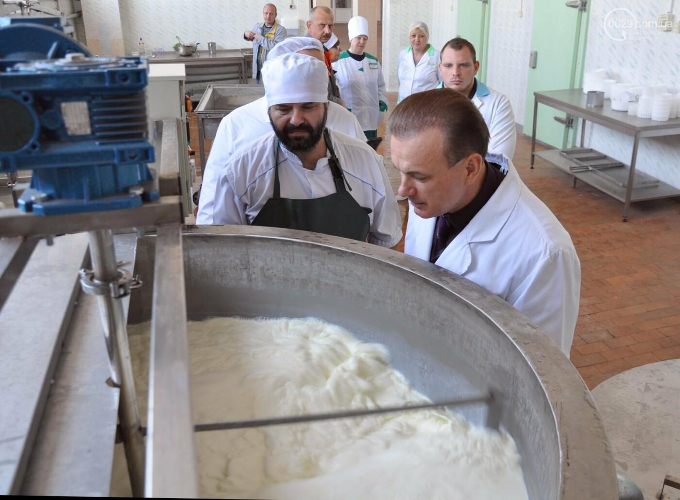 Юрий Тернавский: «Мариупольский молокозавод может напоить молоком каждого жителя Мариуполя и Приазовья», фото-87