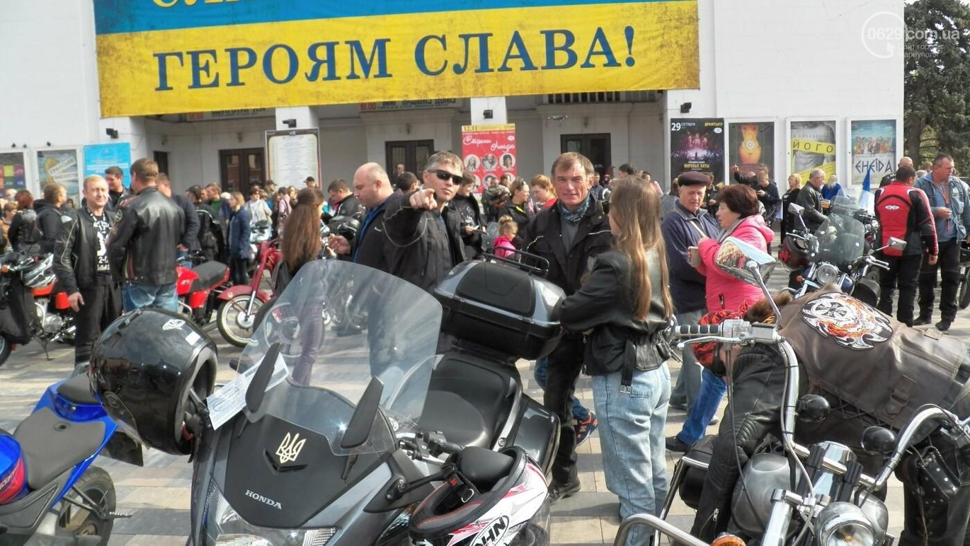 В Мариуполе байкеры закрыли мотосезон, - ФОТО, ВИДЕО, фото-5