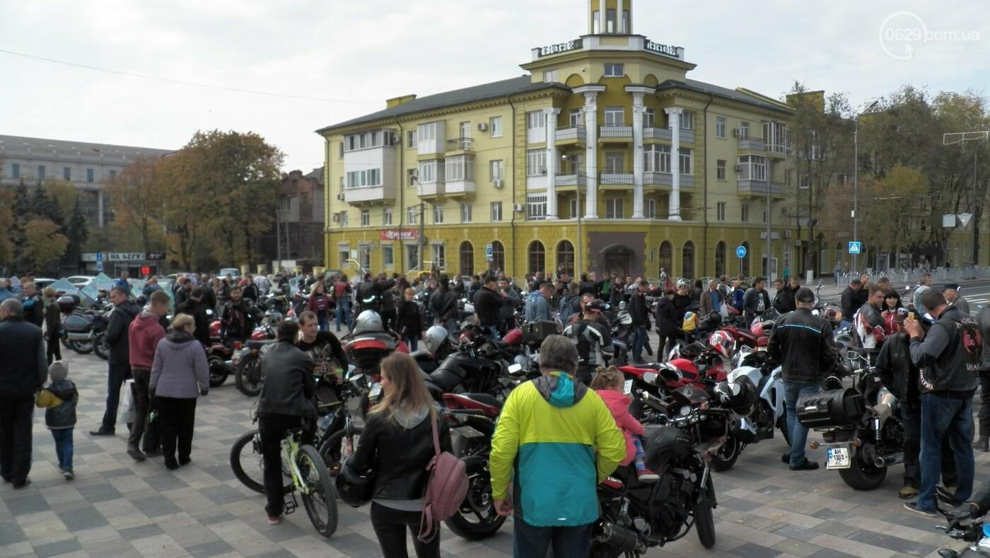 В Мариуполе байкеры закрыли мотосезон, - ФОТО, ВИДЕО, фото-1