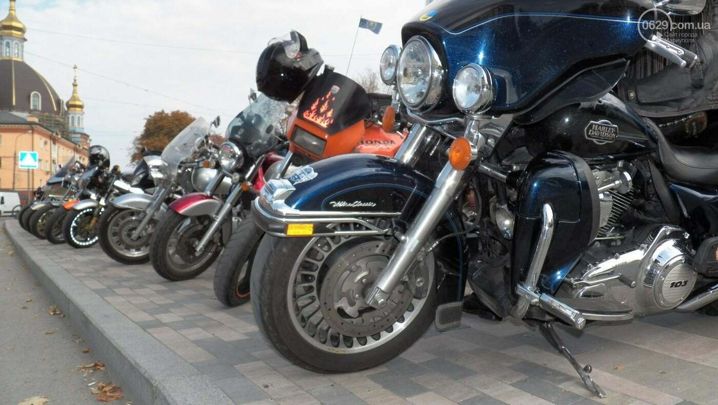 В Мариуполе байкеры закрыли мотосезон, - ФОТО, ВИДЕО, фото-3