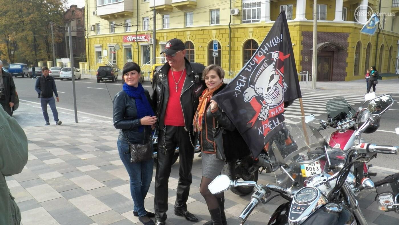 В Мариуполе байкеры закрыли мотосезон, - ФОТО, ВИДЕО, фото-9