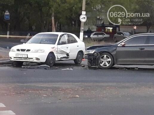 В Мариуполе три иномарки не поделили перекресток, - ФОТО, фото-6