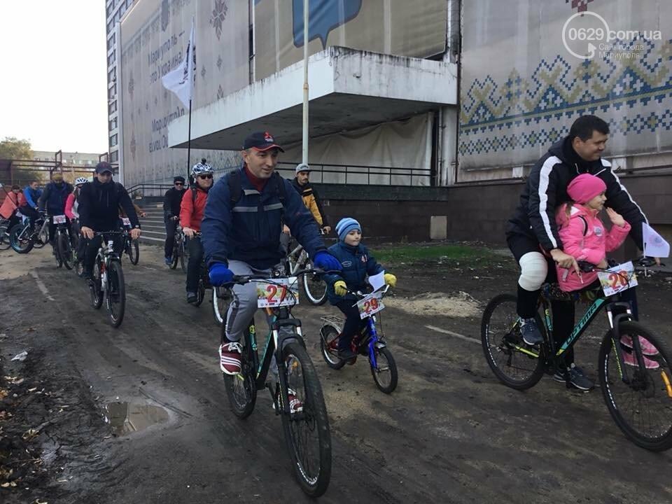 Мариупольские велосипедисты закрывали тёплый  сезон,- ФОТО, ВИДЕО, фото-4