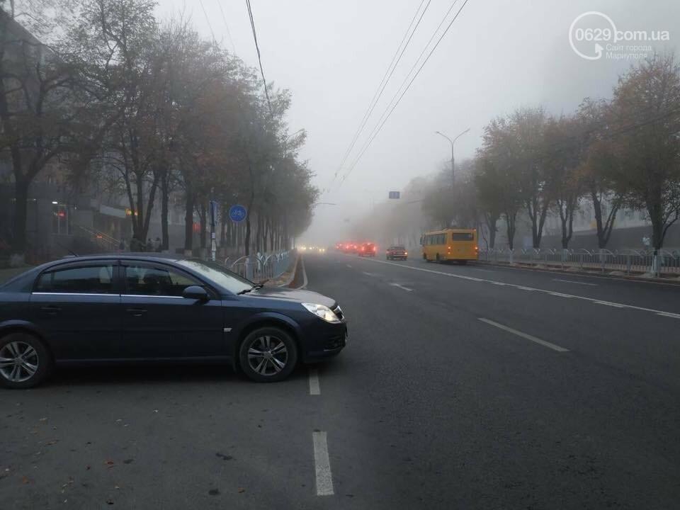 Новые ограждения на центральном проспекте Мариуполя мешают автомобилистам, - ФОТО, фото-1