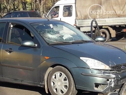 В  Мариуполе на перекрестке столкнулись три иномарки, пострадали двое детей, - ФОТО, фото-9
