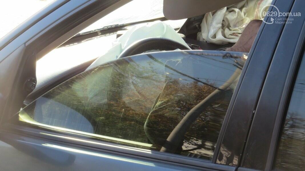 В  Мариуполе на перекрестке столкнулись три иномарки, пострадали двое детей, - ФОТО, фото-7