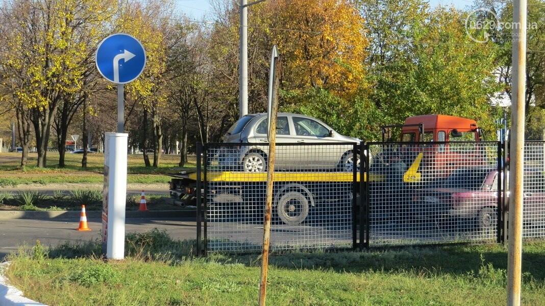 В  Мариуполе на перекрестке столкнулись три иномарки, пострадали двое детей, - ФОТО, фото-15