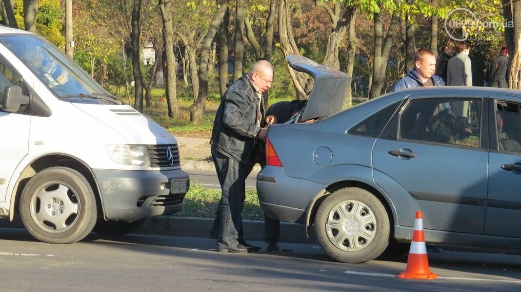 В  Мариуполе на перекрестке столкнулись три иномарки, пострадали двое детей, - ФОТО, фото-10