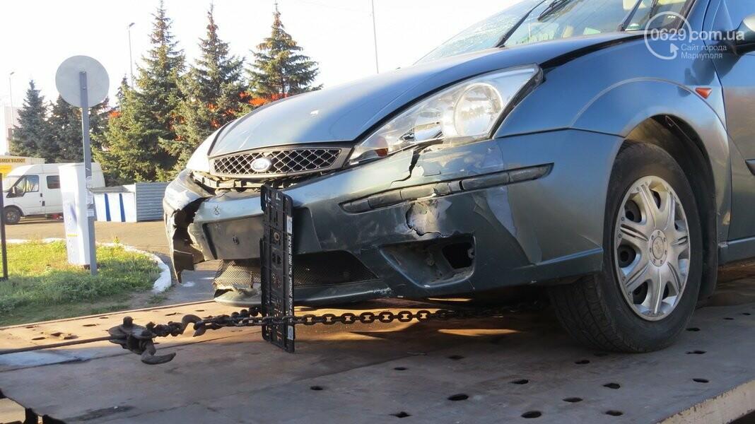 В  Мариуполе на перекрестке столкнулись три иномарки, пострадали двое детей, - ФОТО, фото-4