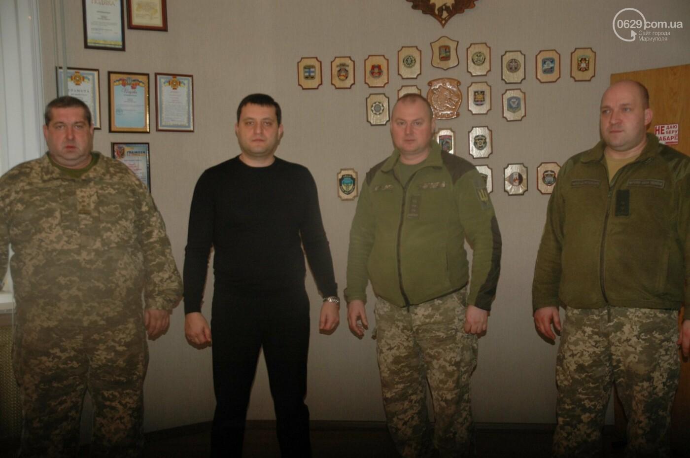 В Мариуполе обсуждали, как будет действовать батальон территориальной обороны,- ФОТО, фото-1