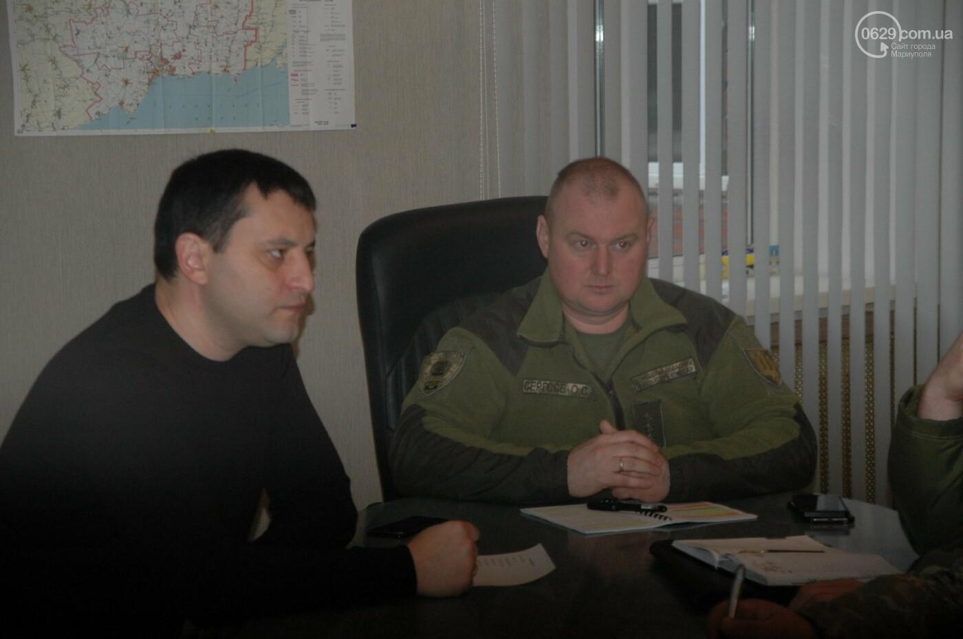 В Мариуполе обсуждали, как будет действовать батальон территориальной обороны,- ФОТО, фото-3