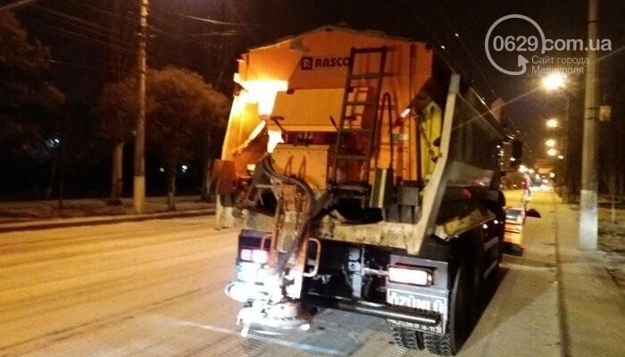 Как Мариуполь боролся с первым зимним снегом, - ФОТО, фото-5