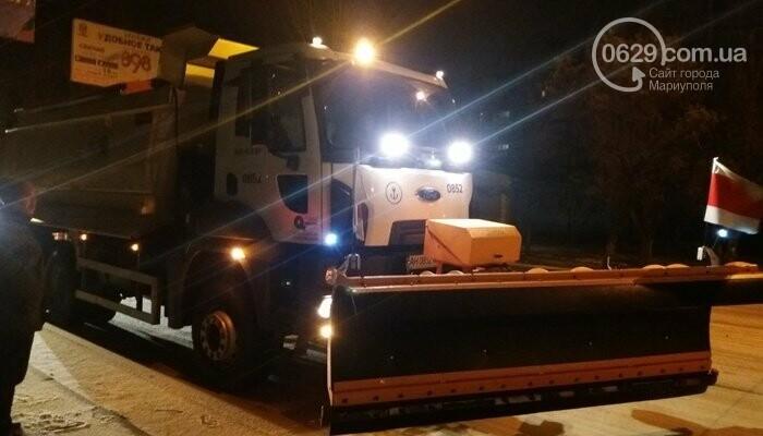 Как Мариуполь боролся с первым зимним снегом, - ФОТО, фото-4