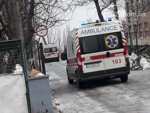 В Мариуполе тушили пожар в Академии полиции, -  ФОТО, фото-1