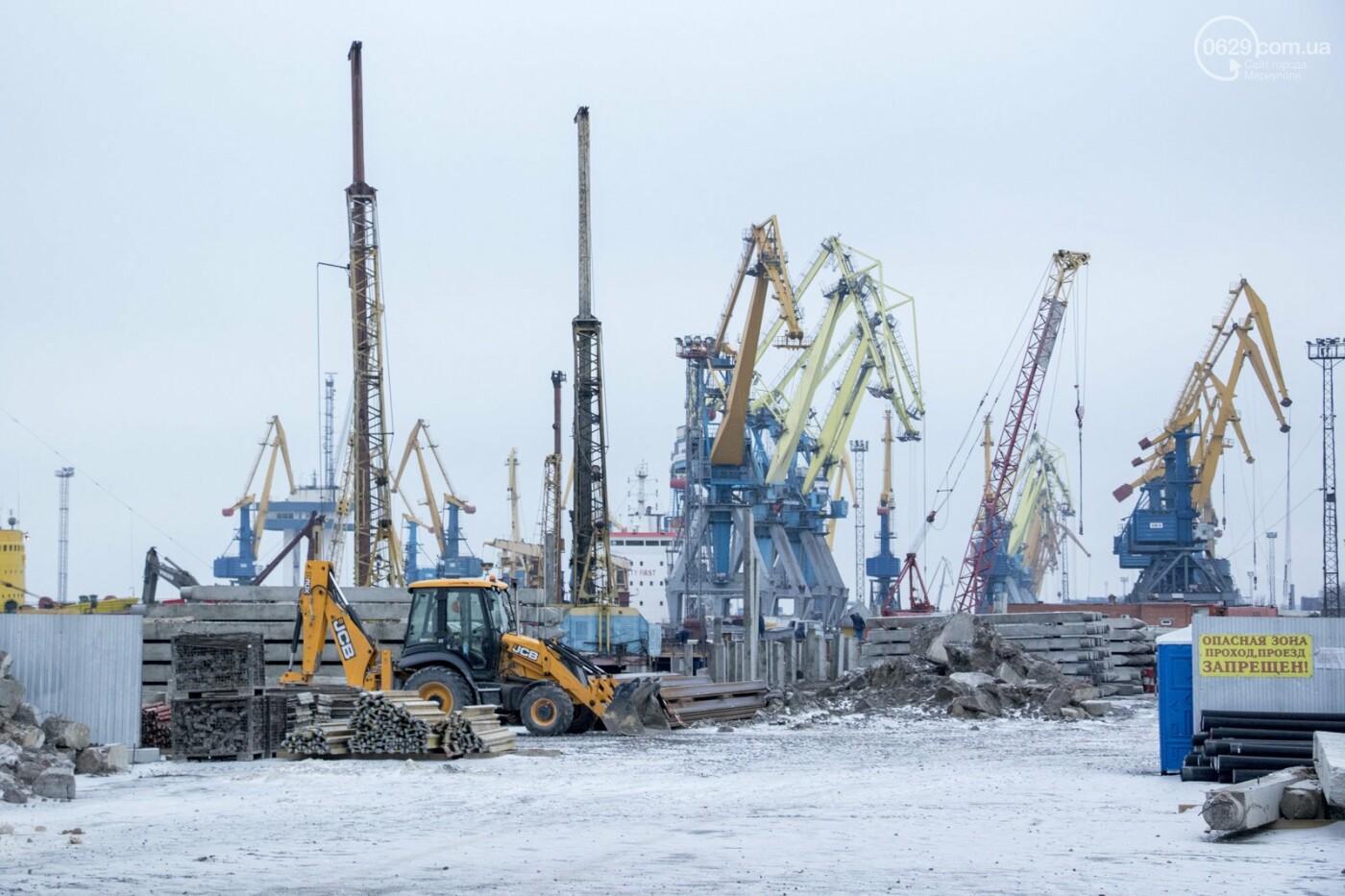 Из-за строительства Керченского моста и незаконной блокады порт Мариуполя потерял 6 миллиардов гривен, - ФОТО, фото-11