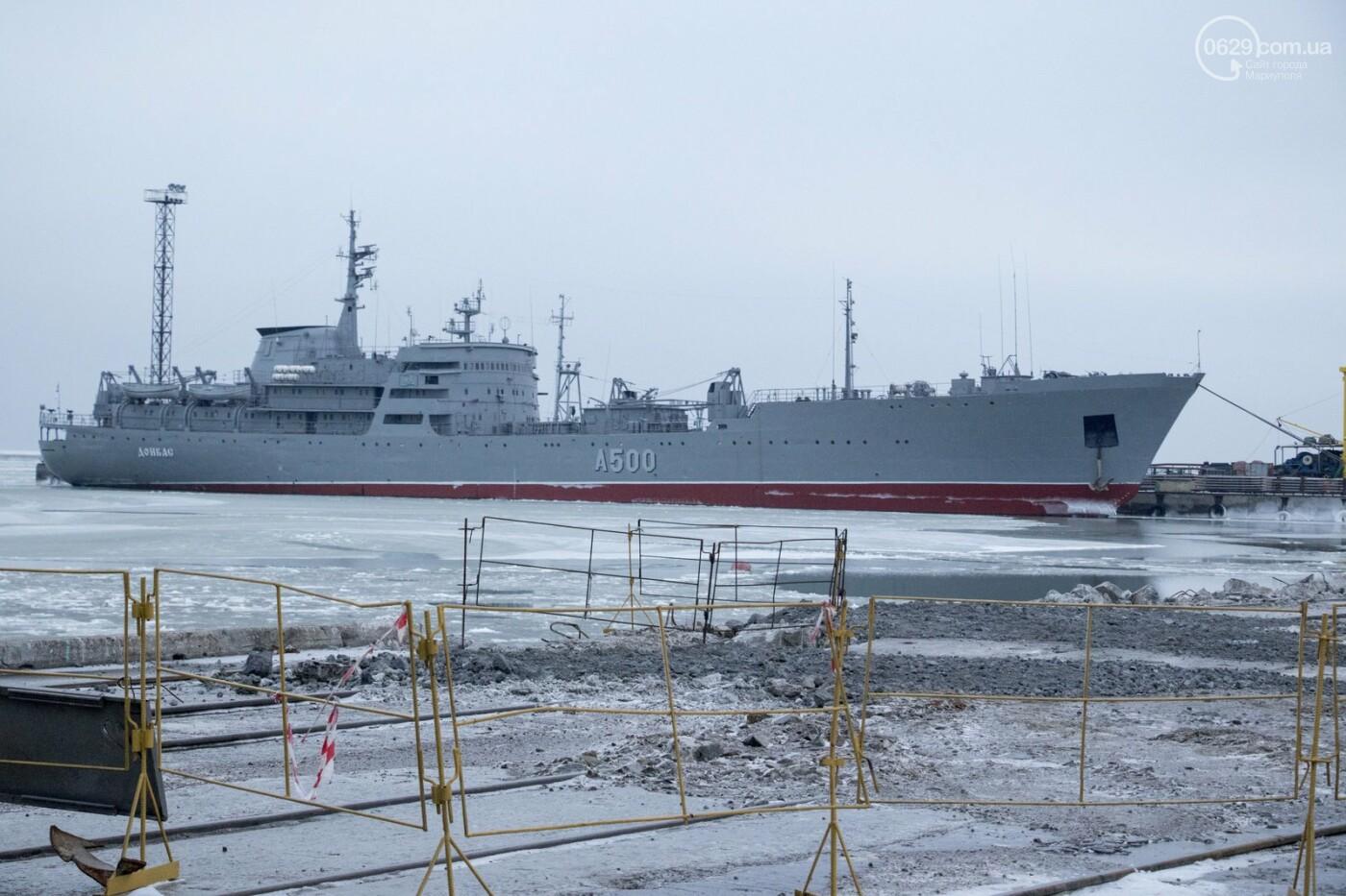 Из-за строительства Керченского моста и незаконной блокады порт Мариуполя потерял 6 миллиардов гривен, - ФОТО, фото-10