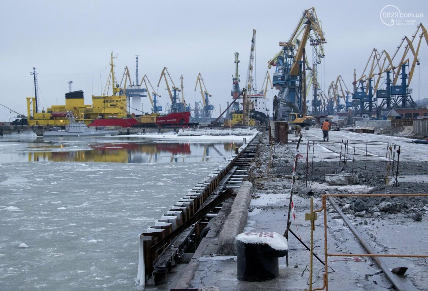Из-за строительства Керченского моста и незаконной блокады порт Мариуполя потерял 6 миллиардов гривен, - ФОТО, фото-9