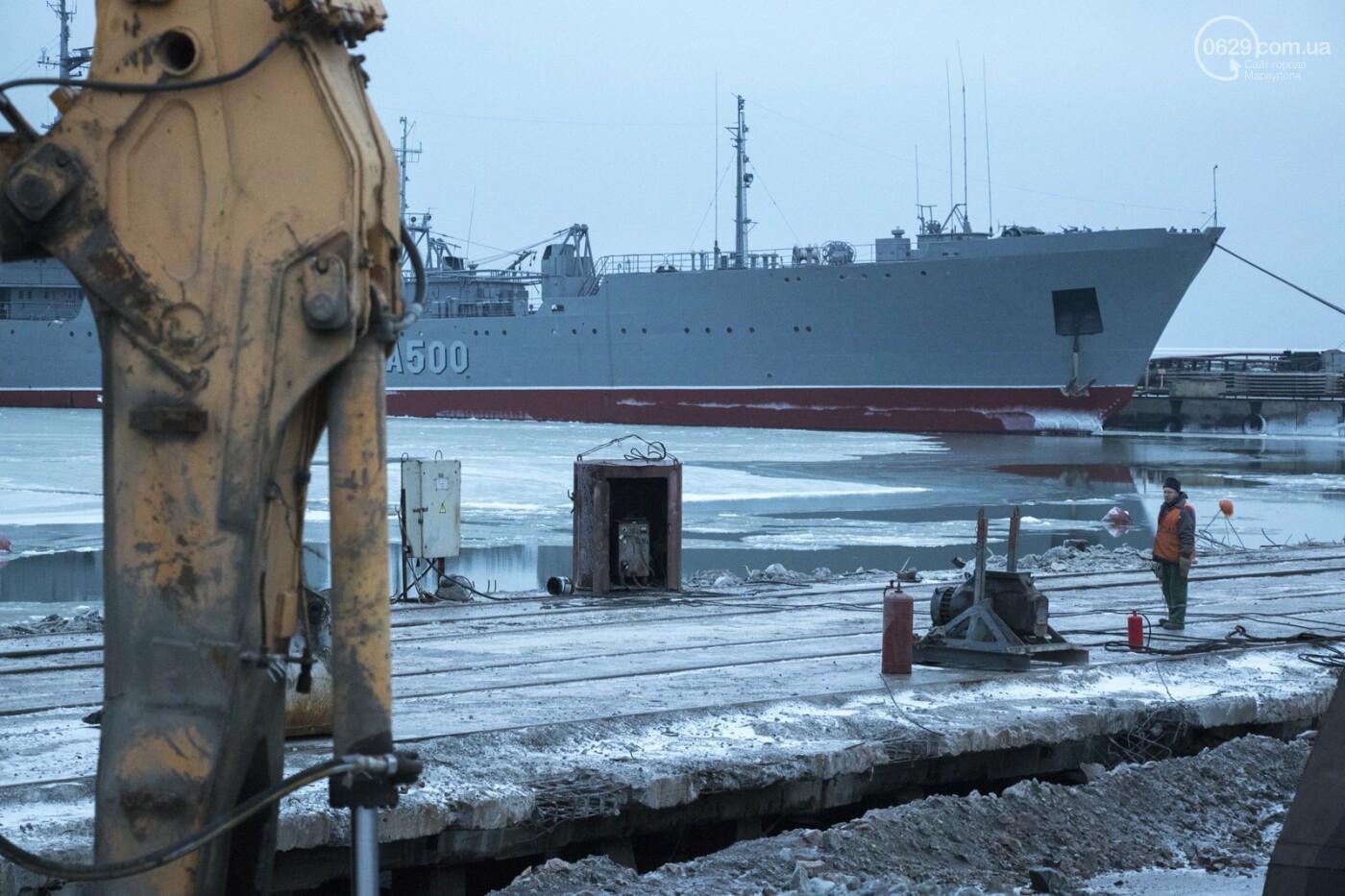 Из-за строительства Керченского моста и незаконной блокады порт Мариуполя потерял 6 миллиардов гривен, - ФОТО, фото-3
