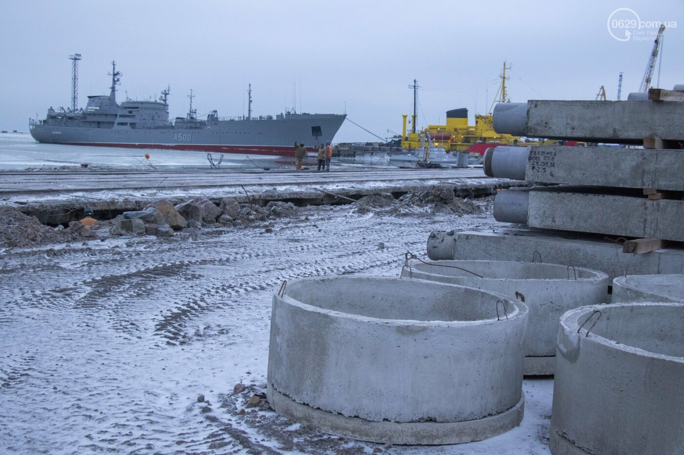 Из-за строительства Керченского моста и незаконной блокады порт Мариуполя потерял 6 миллиардов гривен, - ФОТО, фото-2