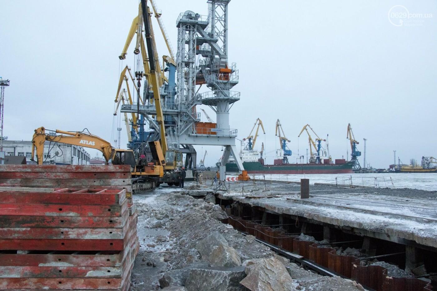 Из-за строительства Керченского моста и незаконной блокады порт Мариуполя потерял 6 миллиардов гривен, - ФОТО, фото-7