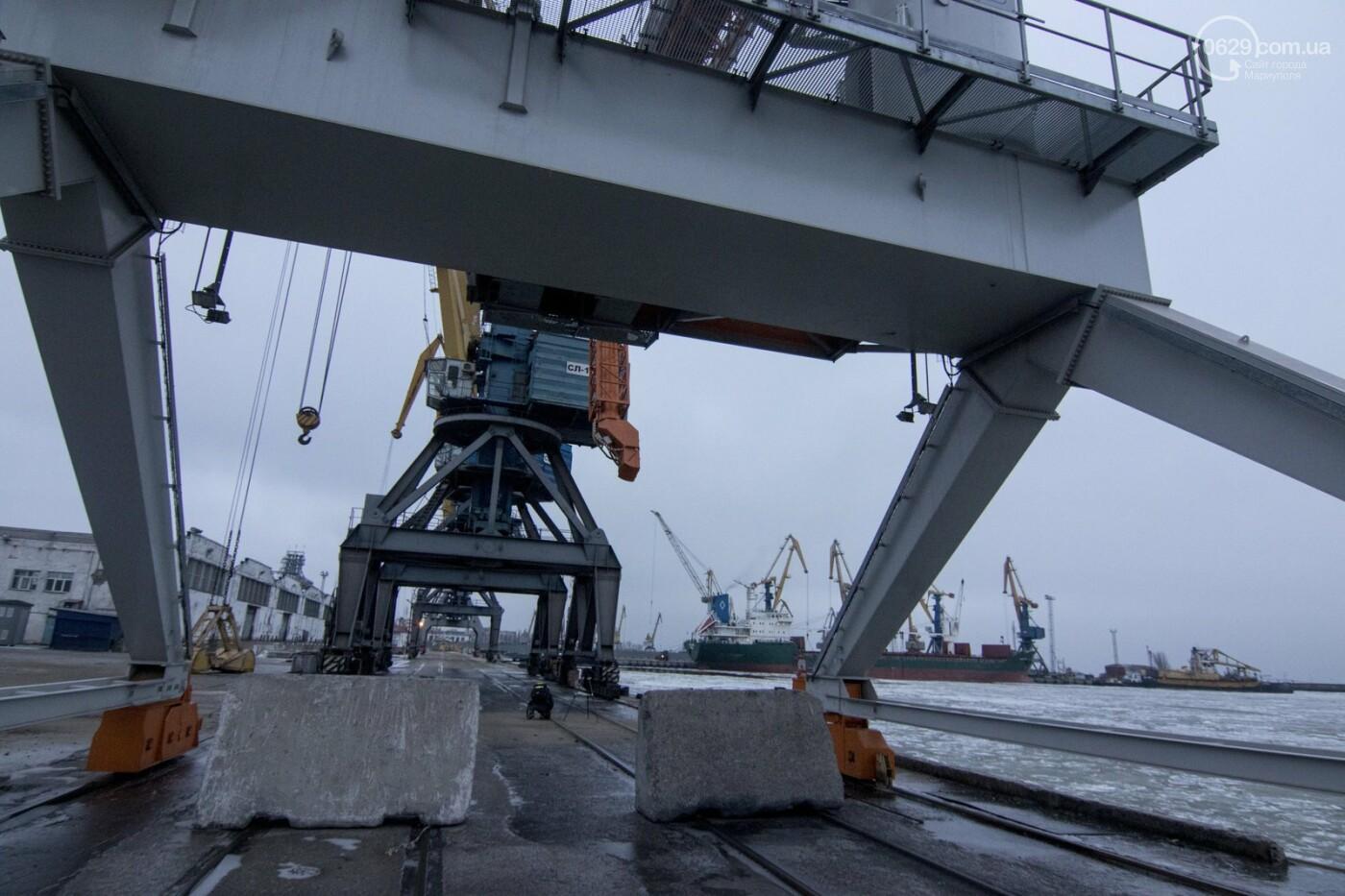Из-за строительства Керченского моста и незаконной блокады порт Мариуполя потерял 6 миллиардов гривен, - ФОТО, фото-5