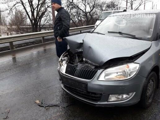 В Мариуполе на Набережной столкнулись 5 автомобилей и маршрутка, - ФОТО, ДОПОЛНЕНО, фото-4