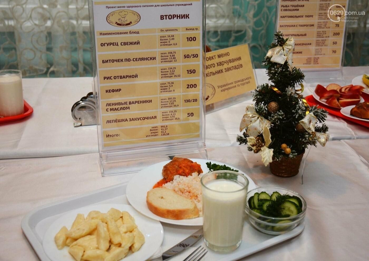 Больше молочных и мясных блюд, свежих овощей и фруктов: в ОШ № 15 представили обновленное меню для школьников., фото-8