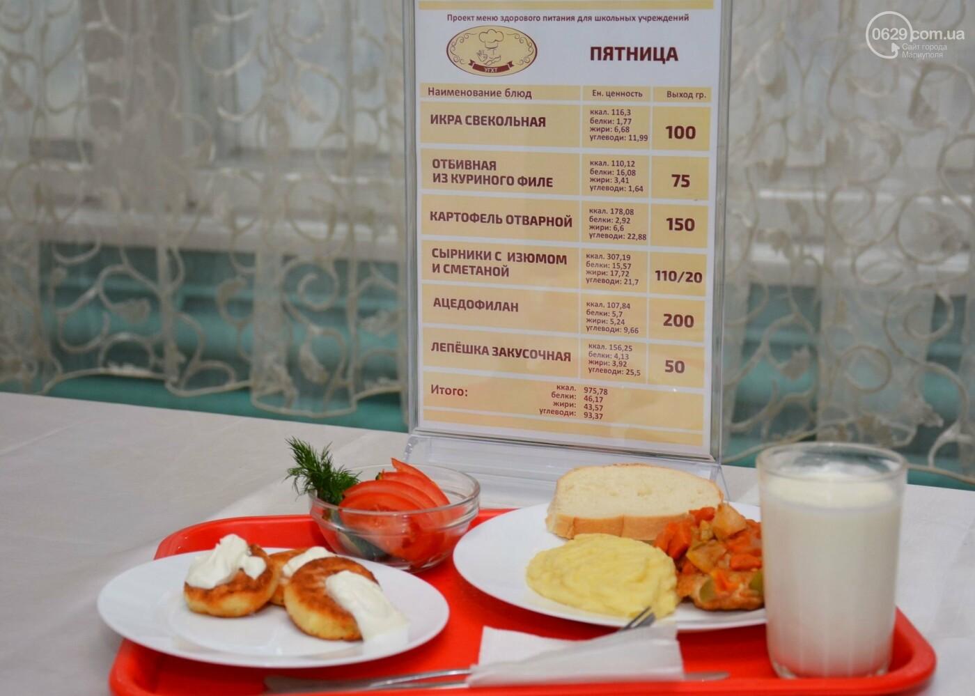 Больше молочных и мясных блюд, свежих овощей и фруктов: в ОШ № 15 представили обновленное меню для школьников., фото-9