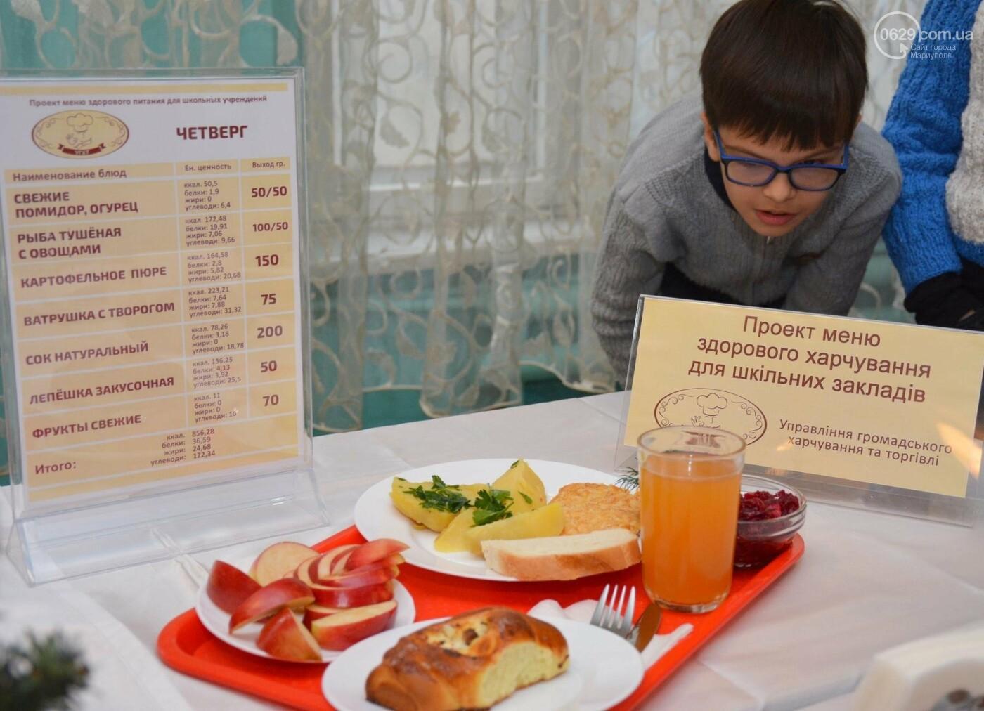 Больше молочных и мясных блюд, свежих овощей и фруктов: в ОШ № 15 представили обновленное меню для школьников., фото-11