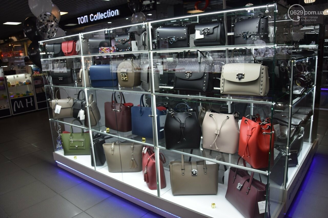 В Мариуполе открылся отдел всемирно известных итальянских сумок «Virginia conti», - ФОТО, фото-1