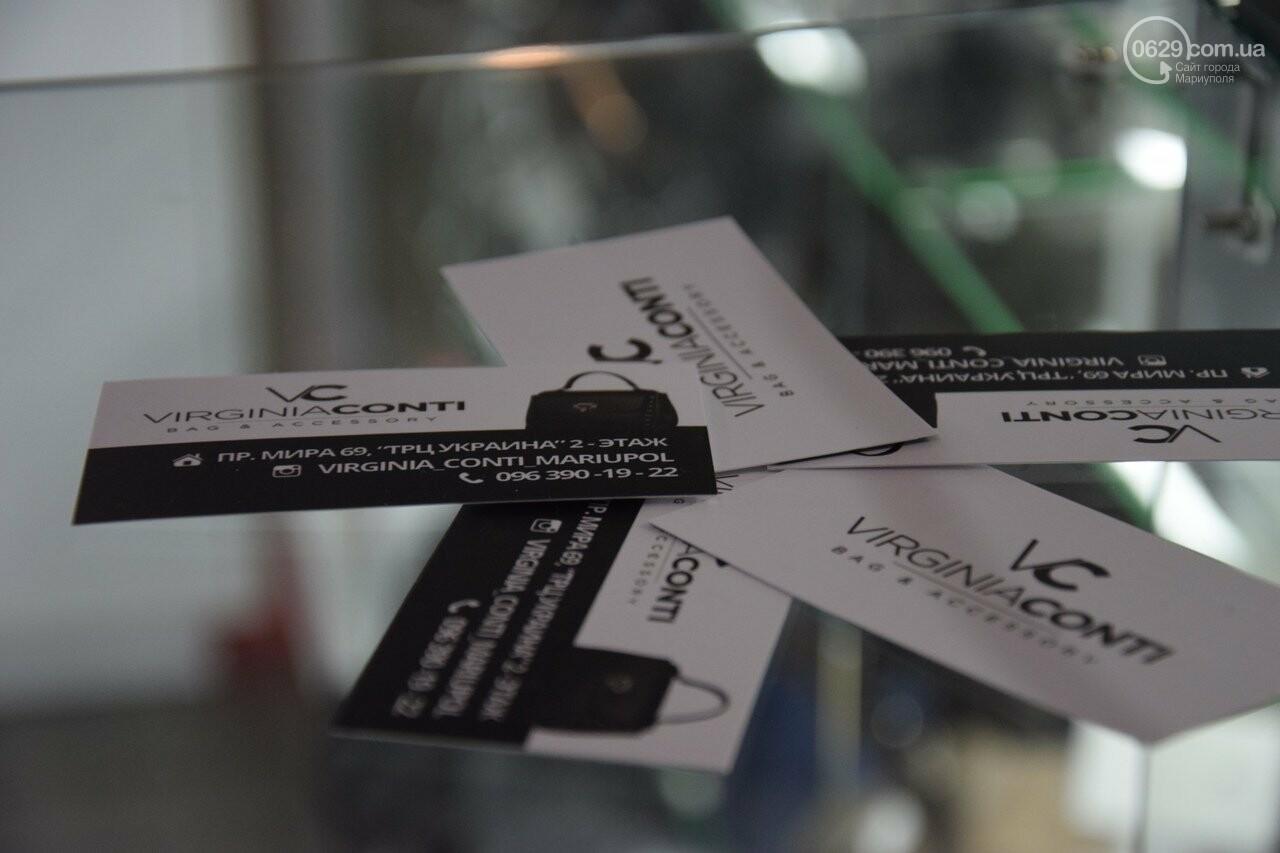В Мариуполе открылся отдел всемирно известных итальянских сумок «Virginia conti», - ФОТО, фото-4