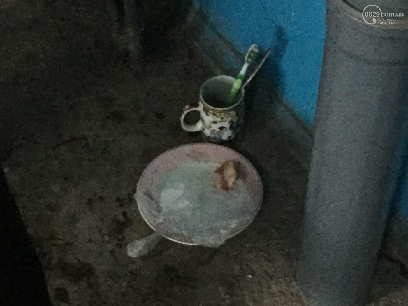 Гражданин Польши, живущий в подъезде, пугает жителей Левобережья, - ФОТО, ВИДЕО, фото-2