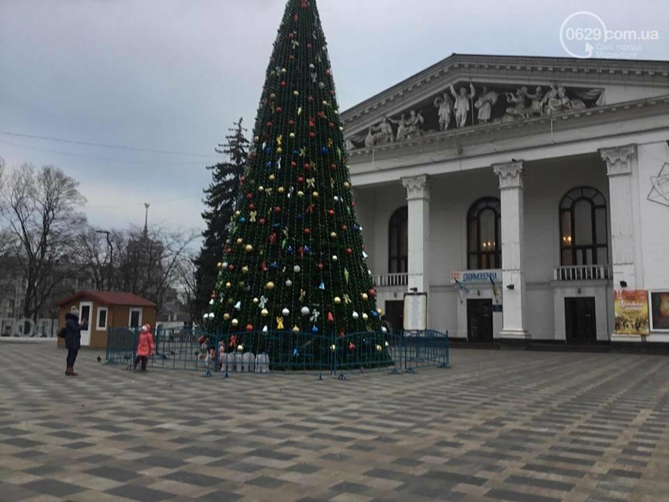 В Мариуполь из Киева привезли карусель и снег, - ФОТОРЕПОРТАЖ, фото-20