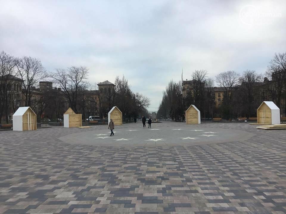 В Мариуполь из Киева привезли карусель и снег, - ФОТОРЕПОРТАЖ, фото-17