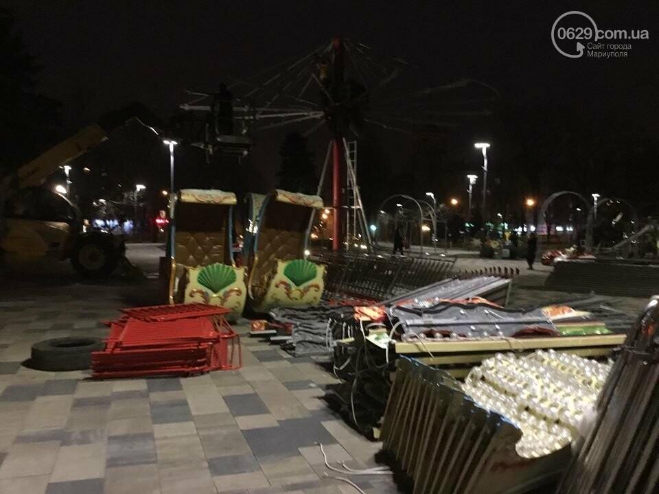 В Мариуполь из Киева привезли карусель и снег, - ФОТОРЕПОРТАЖ, фото-14