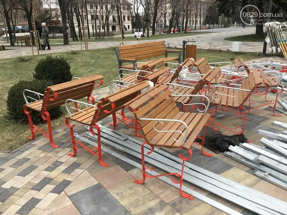 В Мариуполь из Киева привезли карусель и снег, - ФОТОРЕПОРТАЖ, фото-9