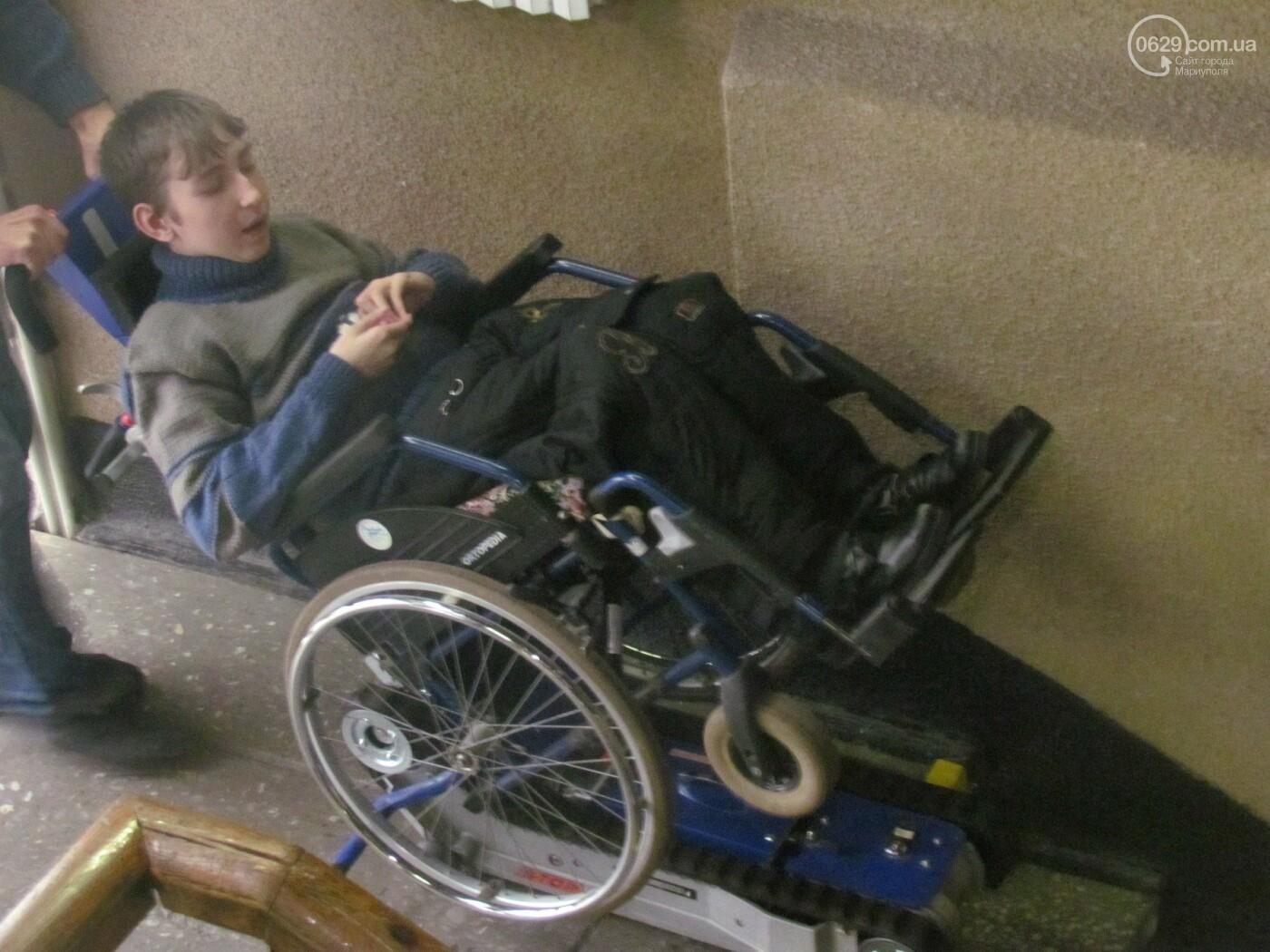 В Украинском доме установили подъемник для детей с инвалидностью, - ФОТО, фото-3