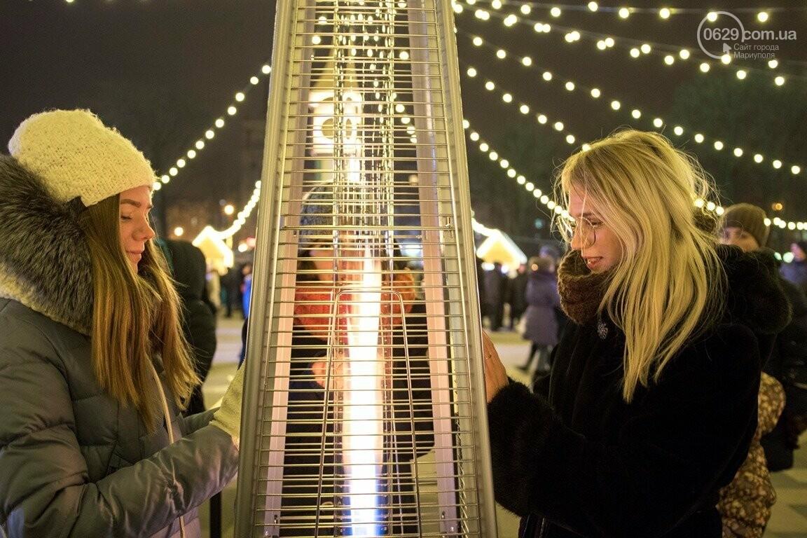 Сказка началась! 18 самых говорящих фотографий с открытия мариупольской елки, - ФОТО, фото-8