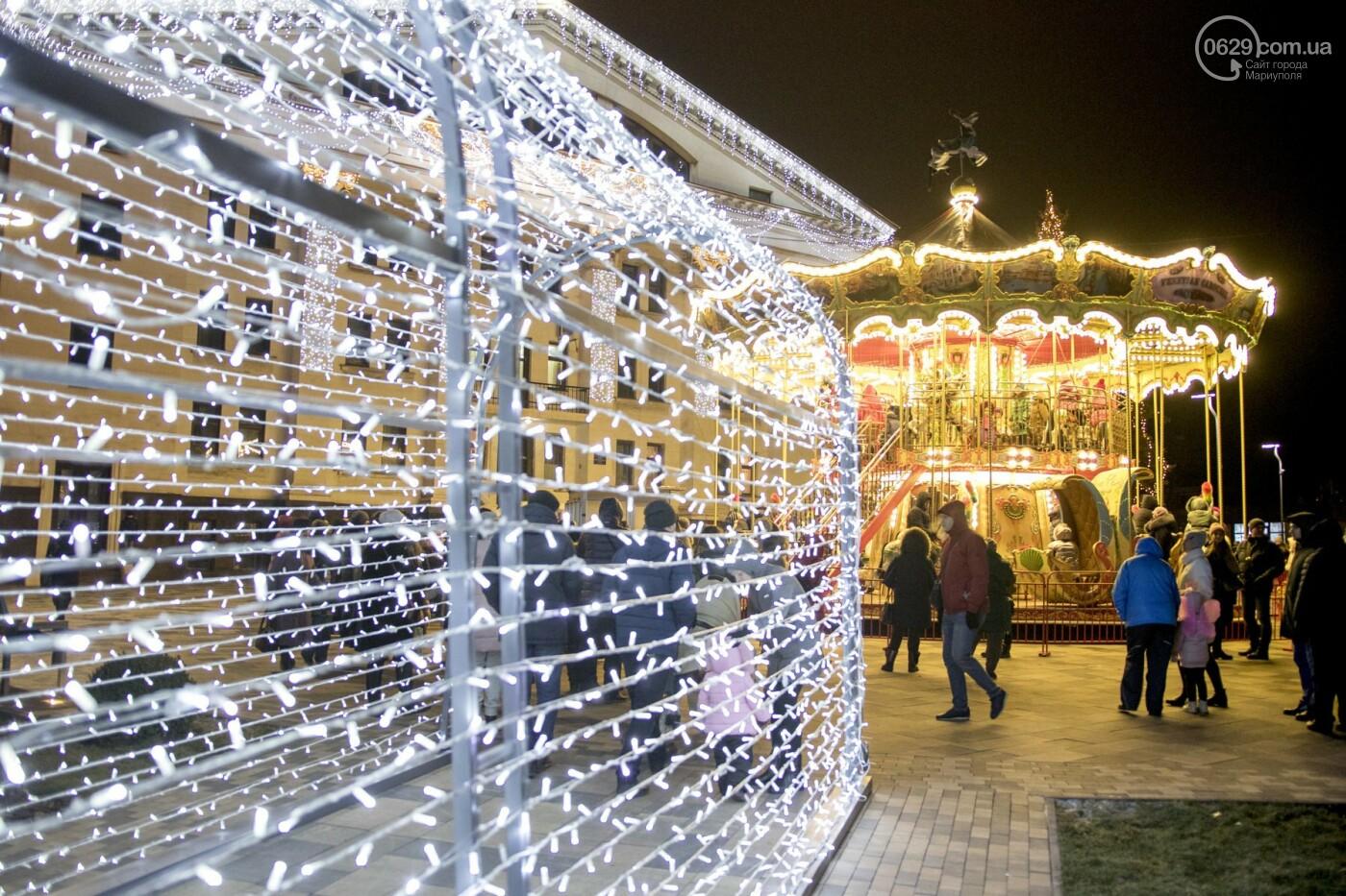Как в Мариуполь с новогодними праздниками пришла Европа,  - ФОТО, ВИДЕО, фото-6