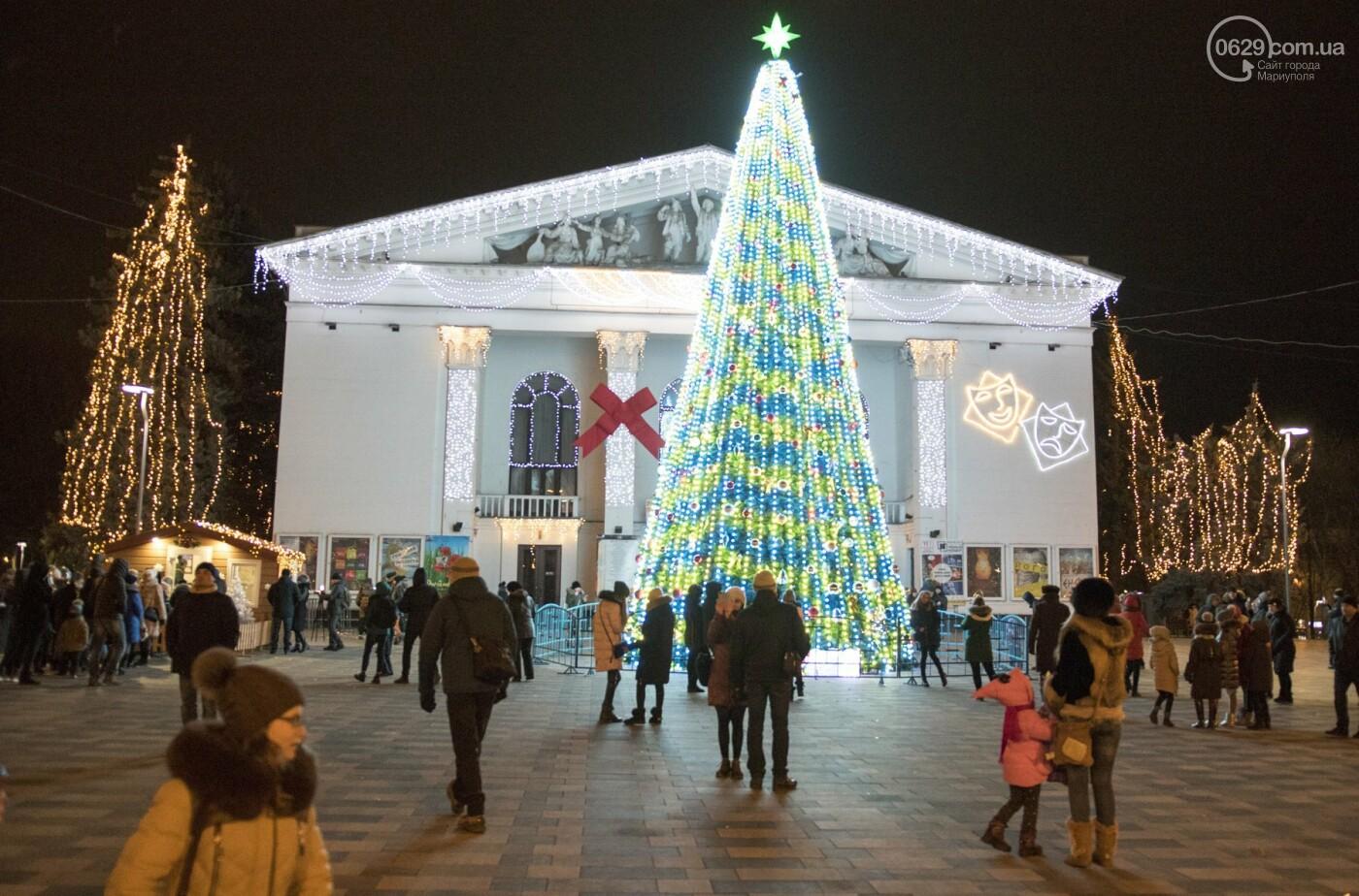 Как в Мариуполь с новогодними праздниками пришла Европа,  - ФОТО, ВИДЕО, фото-5