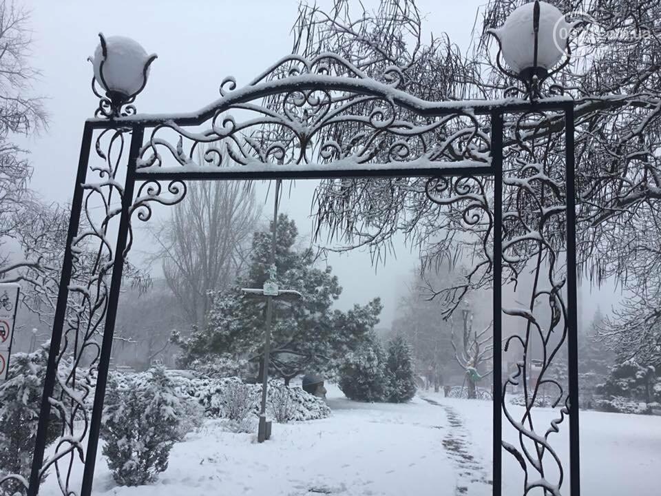 Пора для  восхищения или суровые будни. Мариуполь завалило снегом,- ФОТО, фото-3