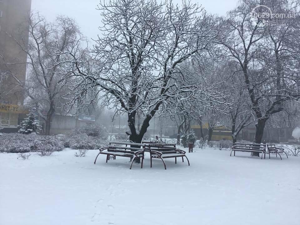 Пора для  восхищения или суровые будни. Мариуполь завалило снегом,- ФОТО, фото-4