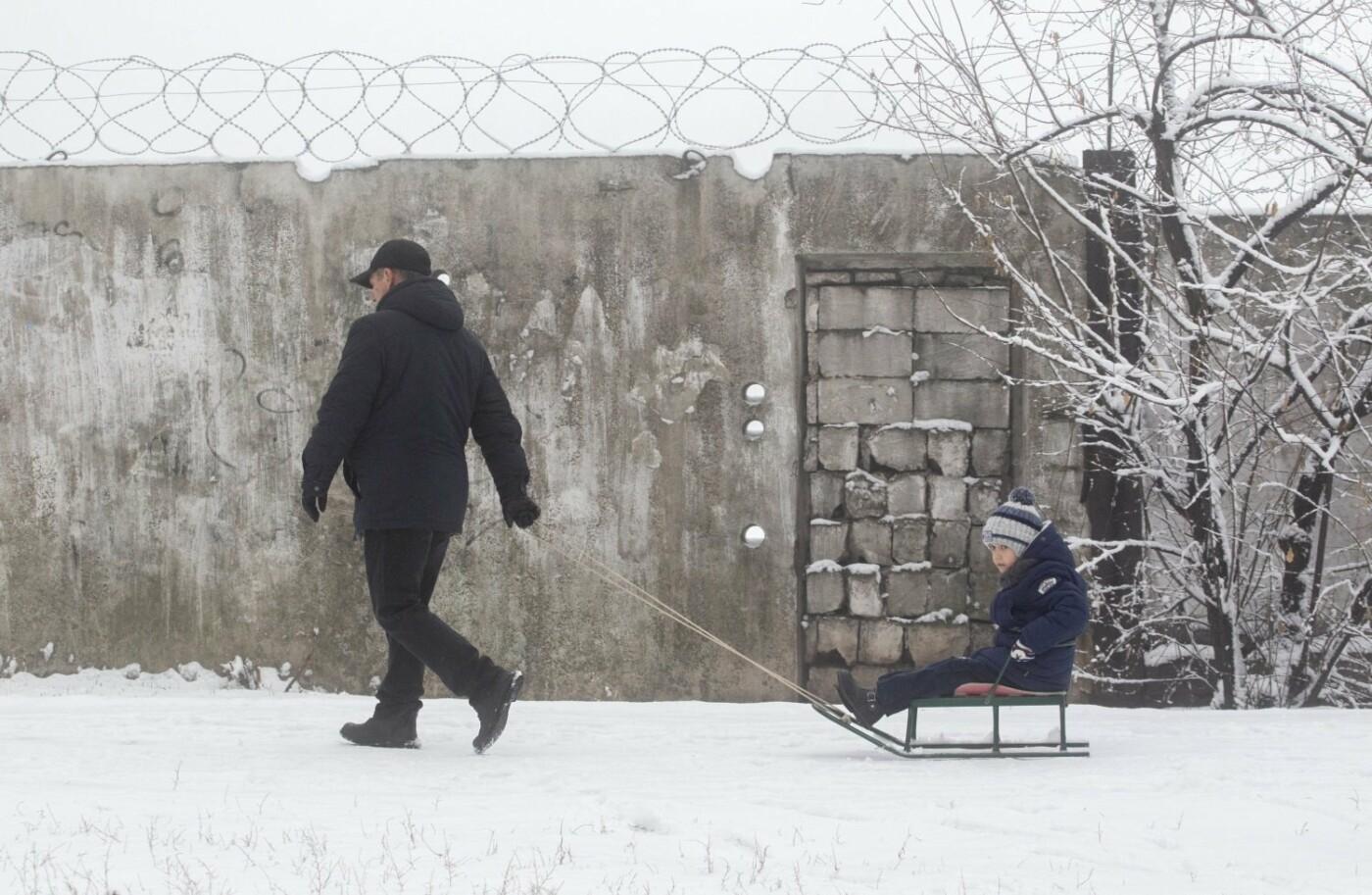 38 фотографий, одна ворона и одна синица... ФОТОРЕПОРТАЖ для тех, кто проспал первый настоящий снег, фото-32