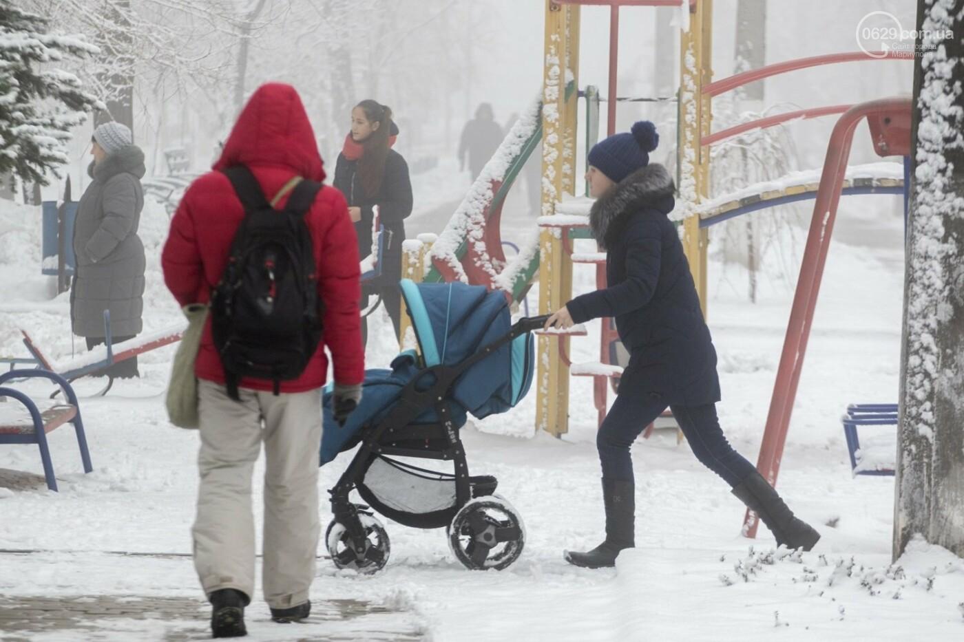 38 фотографий, одна ворона и одна синица... ФОТОРЕПОРТАЖ для тех, кто проспал первый настоящий снег, фото-10