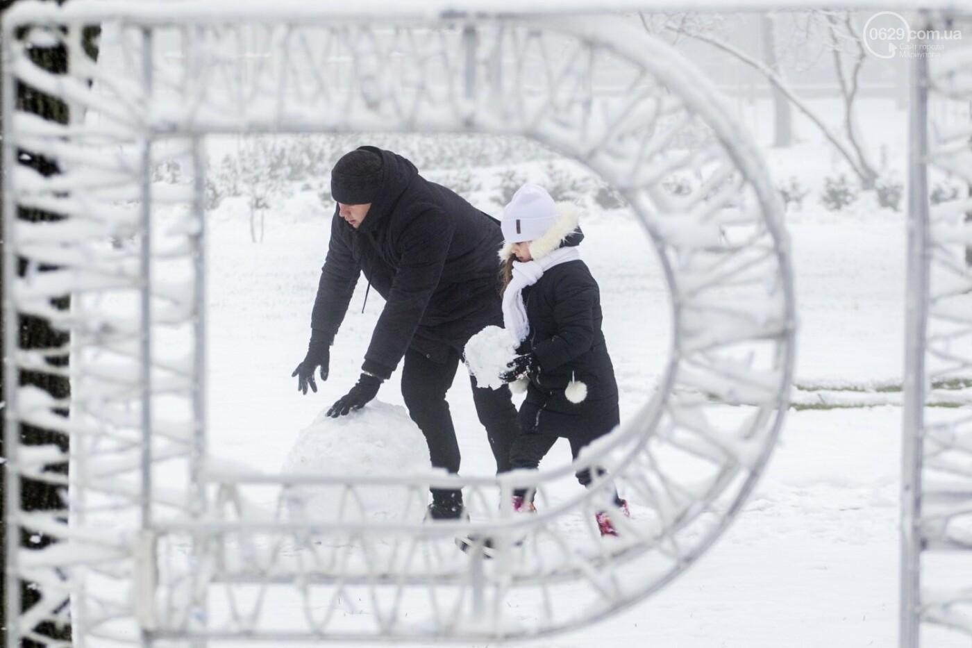38 фотографий, одна ворона и одна синица... ФОТОРЕПОРТАЖ для тех, кто проспал первый настоящий снег, фото-7