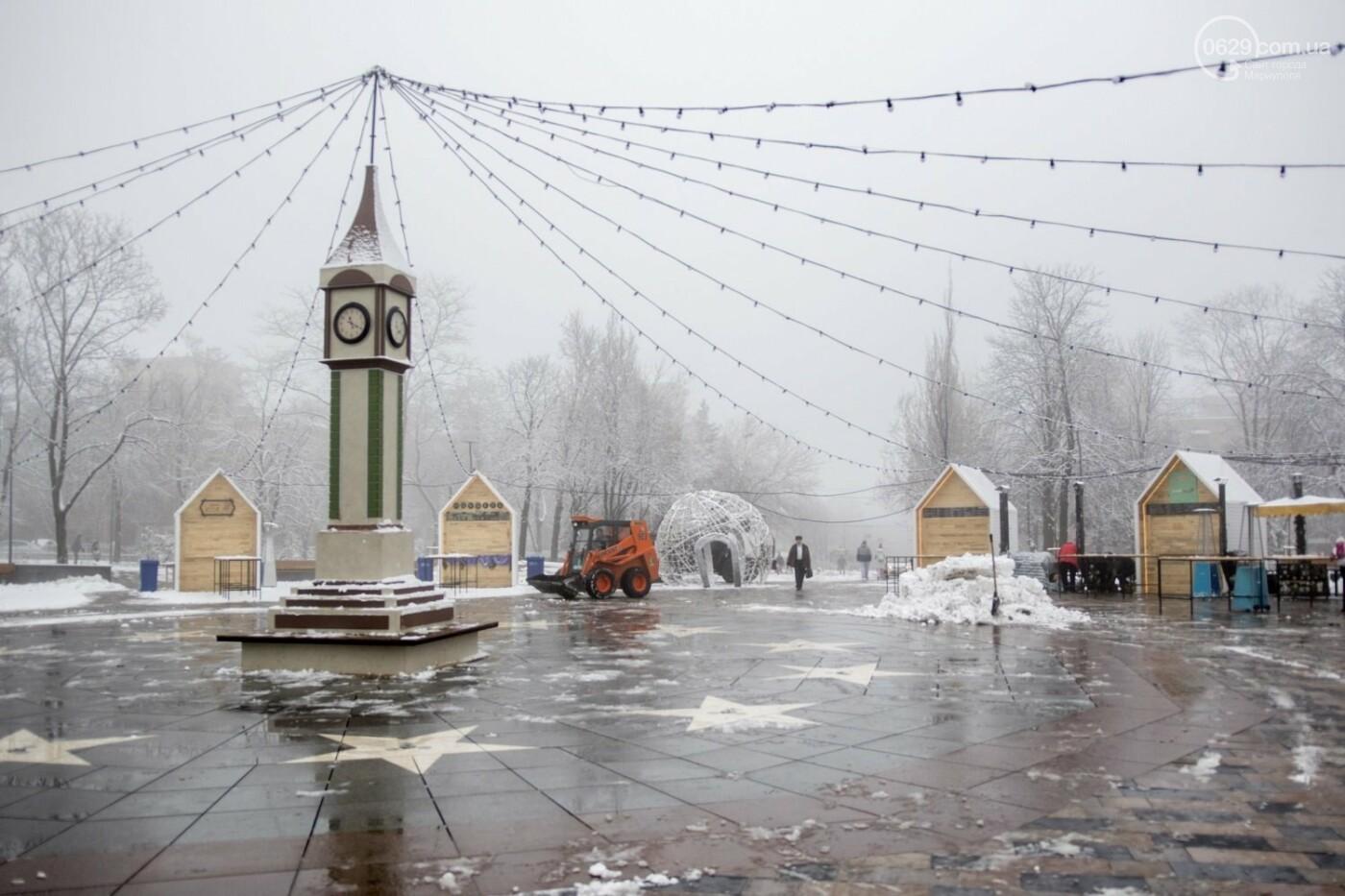 38 фотографий, одна ворона и одна синица... ФОТОРЕПОРТАЖ для тех, кто проспал первый настоящий снег, фото-21