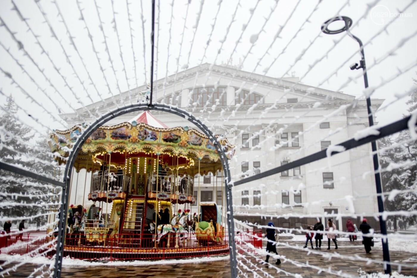 38 фотографий, одна ворона и одна синица... ФОТОРЕПОРТАЖ для тех, кто проспал первый настоящий снег, фото-37