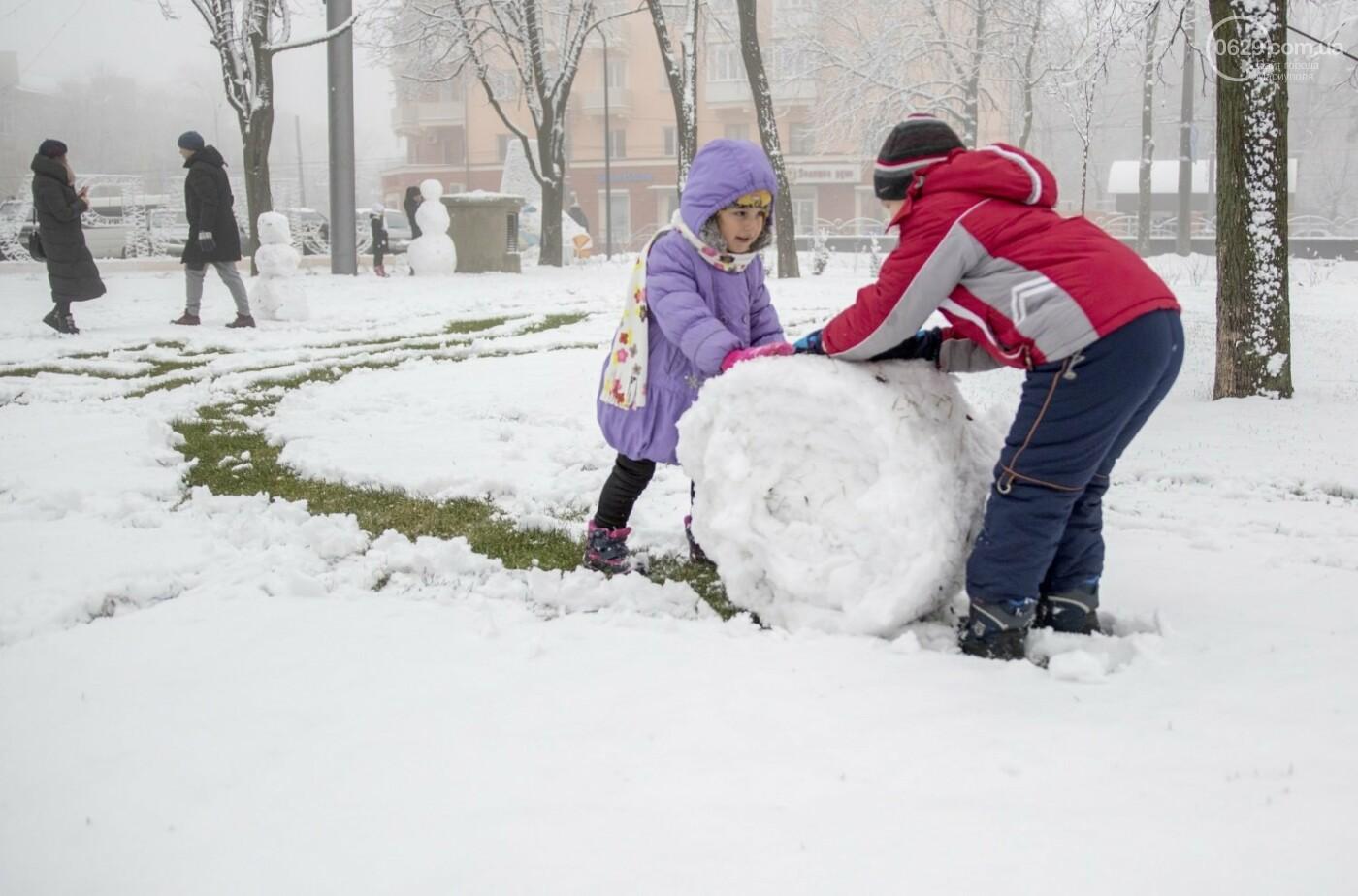 38 фотографий, одна ворона и одна синица... ФОТОРЕПОРТАЖ для тех, кто проспал первый настоящий снег, фото-22