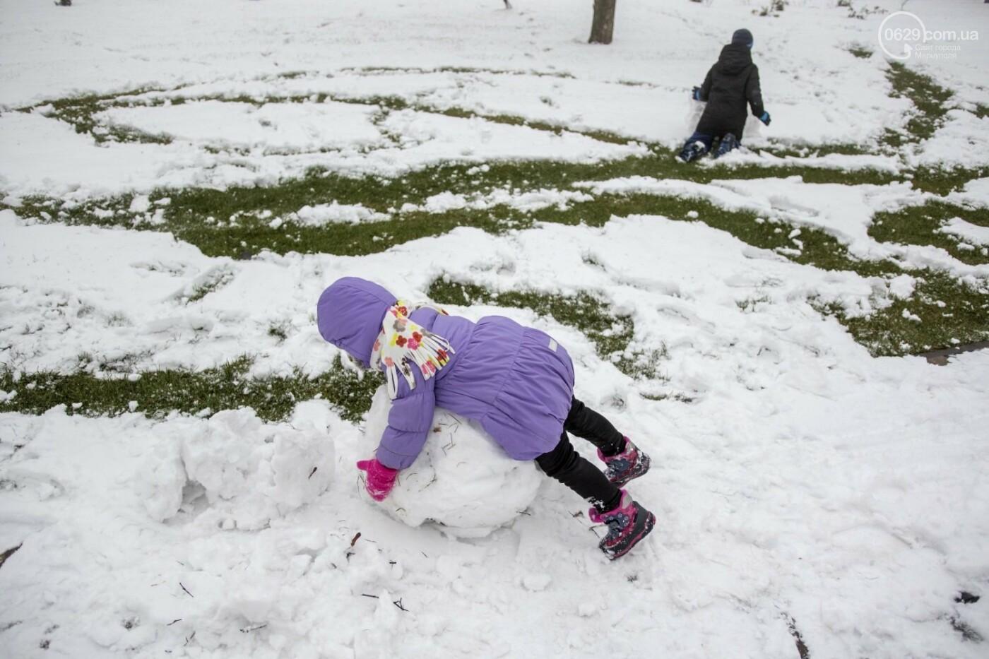 38 фотографий, одна ворона и одна синица... ФОТОРЕПОРТАЖ для тех, кто проспал первый настоящий снег, фото-27